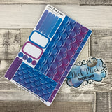 Passion Planner Daily stickers - Ombre Mermaid (DPDPPD-0063)
