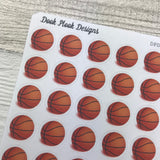 Basketball stickers (DPD120)
