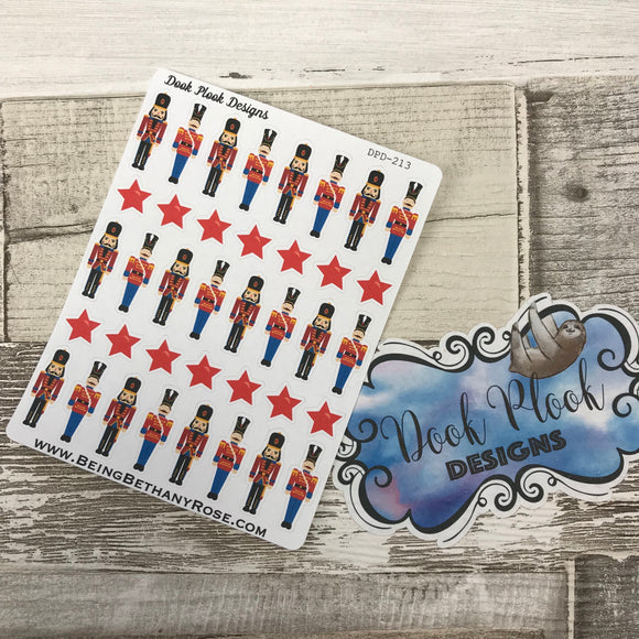 Nutcracker stickers (DPD213)