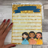 Erin Condren Month Dashboard Note Pages (HamFam)