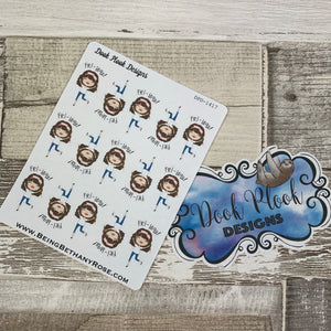 White Woman - Friday Stickers (DPD1417)
