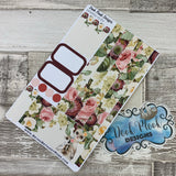 (0155) Passion Planner Daily stickers - Watercolour Meerkat Mum
