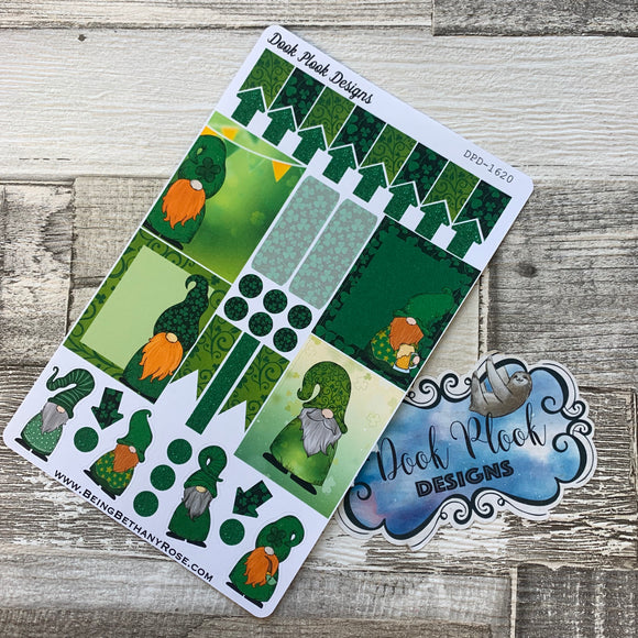 St Patricks Day Gonk functional stickers  (DPD1620)