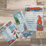 Erin Condren Month Dashboard Note Pages (Gonk)