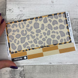 Leopard print Passion Planner Week Kit (DPD1571)