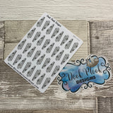 Nail cutter stickers (DPD1512)