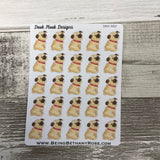 Pug stickers (DPD882)