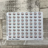 Eyebrows / eyelashes stickers (dinkies)  (DPD196)