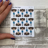 Black Woman - Noodles Stickers (DPD1446)