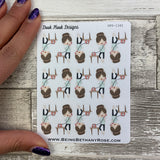 White Woman - Phone Stickers (DPD1442)