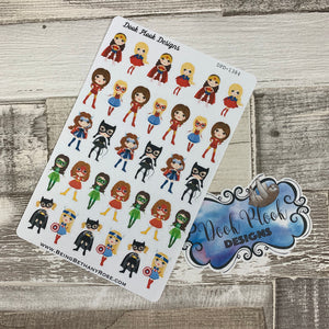 Superhero Mixed Sheet Stickers (DPD1384)