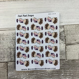White Woman - Hair Appointment stickers (DPD1419)