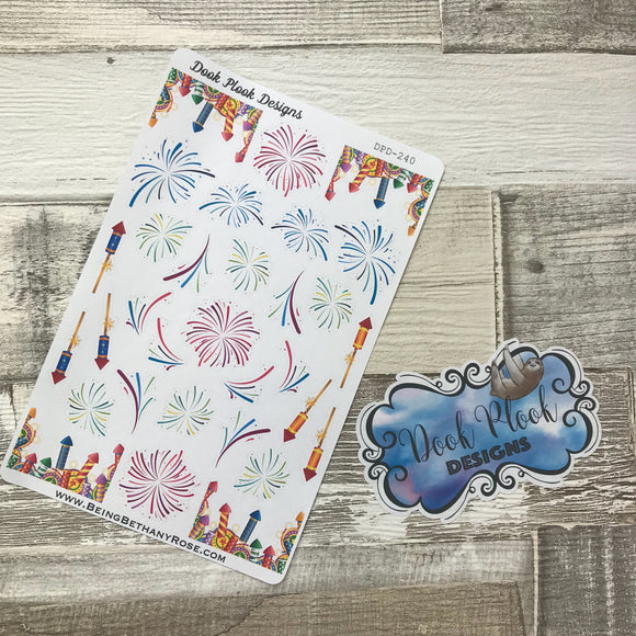 Firework stickers (DPD240)