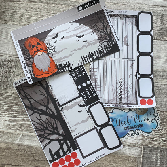 Pumpkin Scary Night Passion Planner Week Kit (DPD1831)