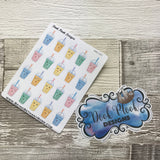 Smoothie / Bubble tea stickers (DPD507)