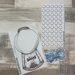 Gumball Machine - Bullet Journal Style Tracker (BNW0026)