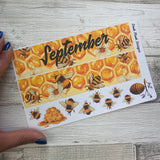 Bee (can change month) Monthly View Kit for the Erin Condren Planners