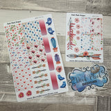 Watercolour mix week sticker set (DPD517)