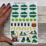 St Patrick's week sticker set (DPD448)