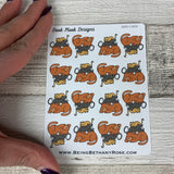 Pile of Cat Nap stickers  (DPD1609)