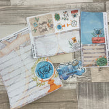 Erin Condren Month dashboard / Note Pages (Travel)