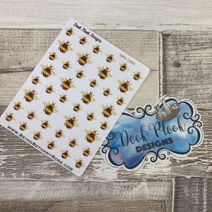Bee stickers (DPD1065)