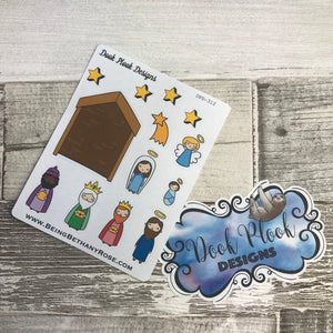 Nativity stickers (DPD312)