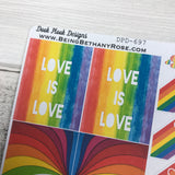 Gay Pride stickers (DPD697)