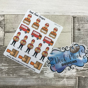 Delivery / parcel / Order Stickers (DPD1170)