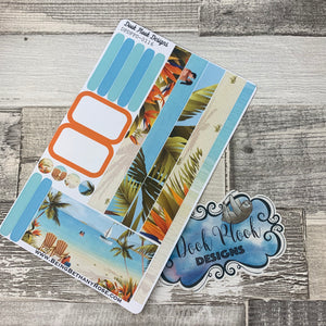 (0116) Passion Planner Daily stickers - Postcard Perfect 2