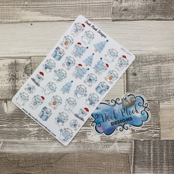 Yeti / winter stickers (DPD1477)