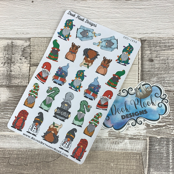 Christmas Gonk Character Stickers Mixed (DPD-1894)