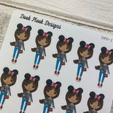 Black Woman - Mouse Ears / Holiday (DPD1443)