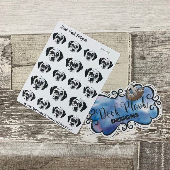 Dalmatian stickers (DPD456)