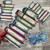 Stack of books Die Cut
