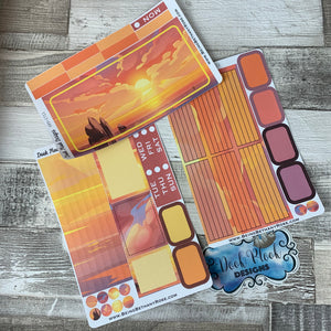 Sunset Passion Planner Week Kit (DPD1711)