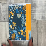 Blue Floral Passion Planner Week Kit (DPD1765)