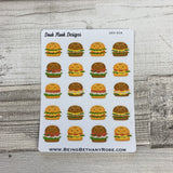 Bagel sandwich stickers  (DPD834)