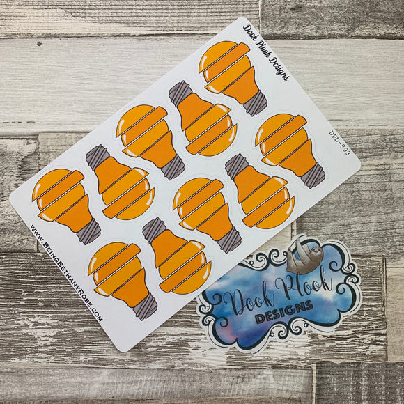 Big ideas light bulb stickers (DPD893)