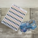 Lipstick stickers (DPD1327)
