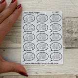 Speech therapy stickers (DPD1060)