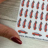 Cars stickers (DPD306)