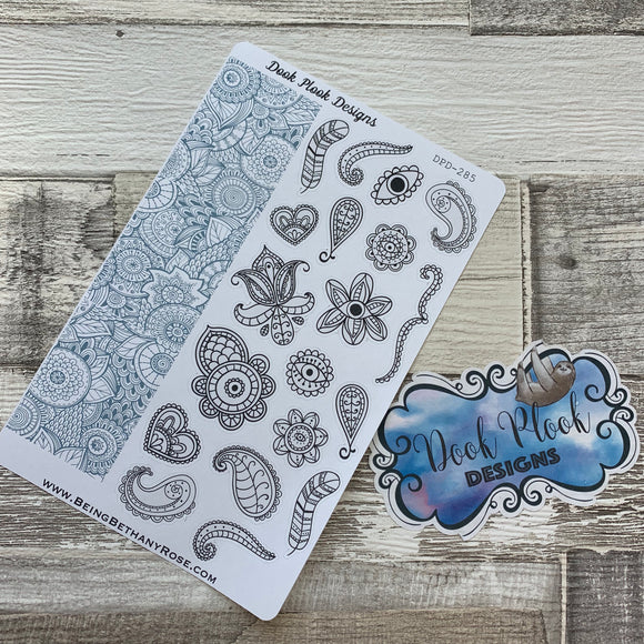 Adult colouring stickers (DPD285)