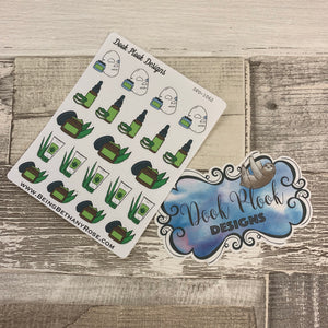 Aloe vera face mask stickers (DPD1062)