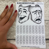 Theatre show sticker sheet for bullet journals (BNW0012)