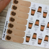Coffee lover sticker set (DPD199)