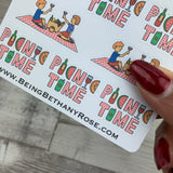Picnic time stickers (DPD689)