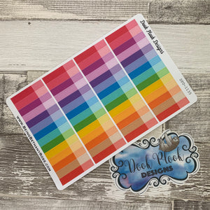 Thin two tone tab stickers (DPD1135)