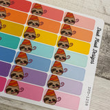 Slater the Sloth Party TabStickers (DPD-1258)