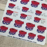 Buy or don't buy wash tape stickers (DPD1257)